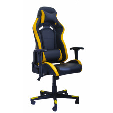 Кресло для геймеров OT-B23 (Black+Yellow)